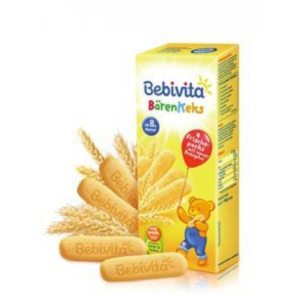Bebivita Бебешки Бисквитки - мечета 180гр.